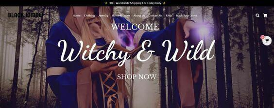 blackwidow shop